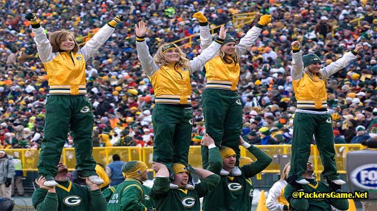 Green Bay Packers Cheerleaders Videos
