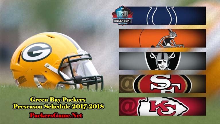 Green Bay Packers Football TV Schedule