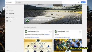 Green Bay Packers Google Plus