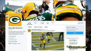 Green Bay Packers Twitter Official Fans