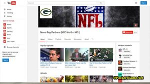 Green Bay Packers You Tube Fans