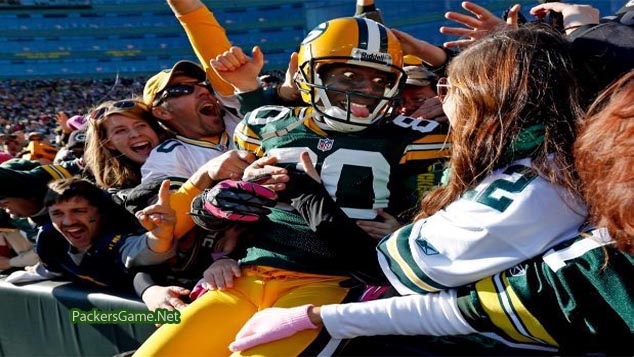 packers first lambeau leap
