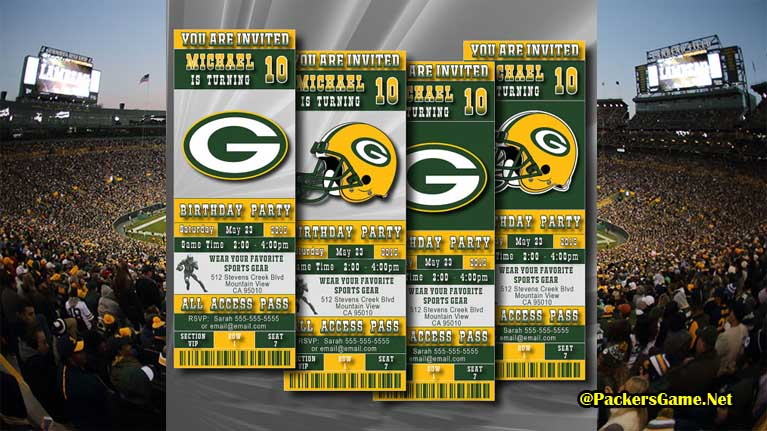 Green Bay Packers Game Tickets
